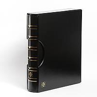 Альбом Leuchtturm, GRANDE для монет в холдерах или банкнот, с футляром, черный