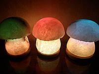 """Соляная лампа """"Гриб"""" 3-4 кг"""