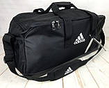 Большая дорожная сумка Adidas. Сумка в дорогу. Спортивная сумка. КСС13, фото 5