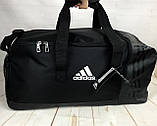 Большая дорожная сумка Adidas. Сумка в дорогу. Спортивная сумка. КСС13, фото 7