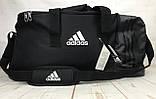 Большая дорожная сумка Adidas. Сумка в дорогу. Спортивная сумка. КСС13, фото 8