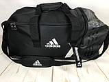 Большая дорожная сумка Adidas. Сумка в дорогу. Спортивная сумка. КСС13, фото 9