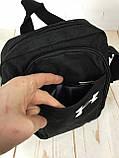 Спортивная сумка-барсетка через плечо Under Armour .Тканевая сумка. КС119, фото 5