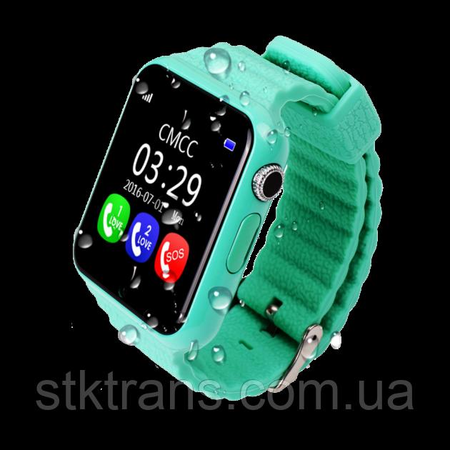 Детские смарт-часы Smart Watch V7K Зеленые (14-SBW-V7K-04)