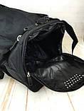 Небольшая спортивная сумка без логотипа с отделом для обуви. Раз.44*26*21см КСС28, фото 3