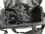 Небольшая спортивная сумка без логотипа с отделом для обуви. Раз.44*26*21см КСС28, фото 4