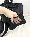 Небольшая спортивная сумка без логотипа с отделом для обуви. Раз.44*26*21см КСС28, фото 8