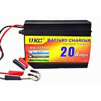 Зарядное устройство для аккумулятора BATTERY CHARGER MA-1220A Черный