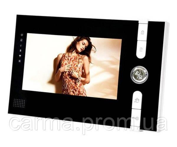 """Видеодомофон с цветным экраном 7"""" JS 715 со звонком Черный"""