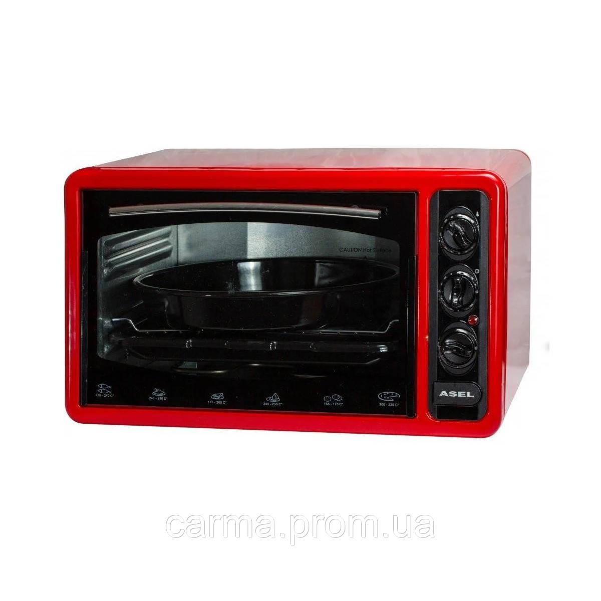 Электрическая духовка ASEL AF-50-23 Красный