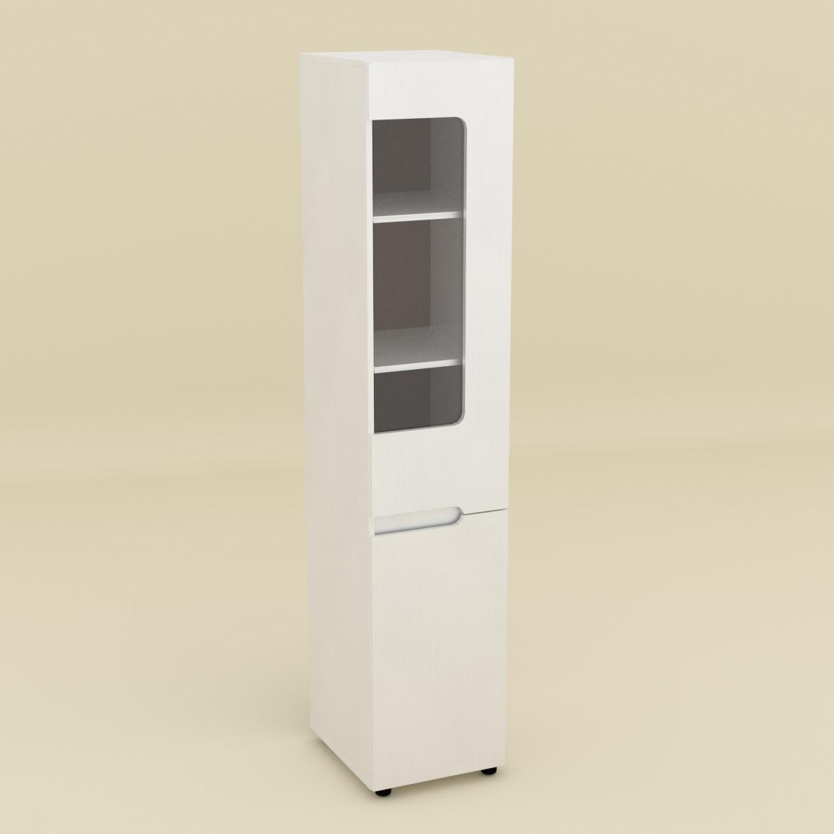 Шкаф книжный МС-24 правый белый Компанит