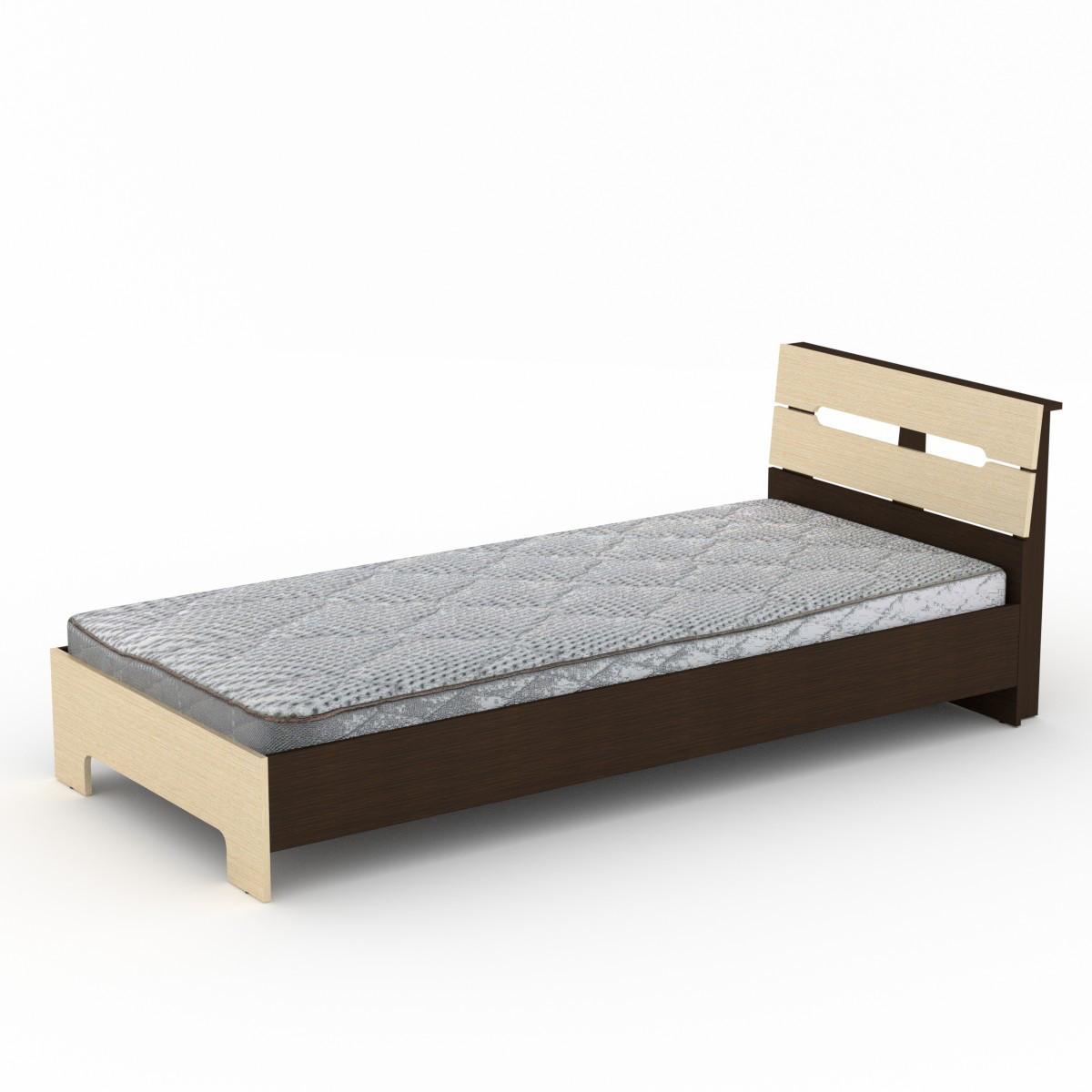 Кровать 90 Стиль венге комби Компанит (94х213х95 см)