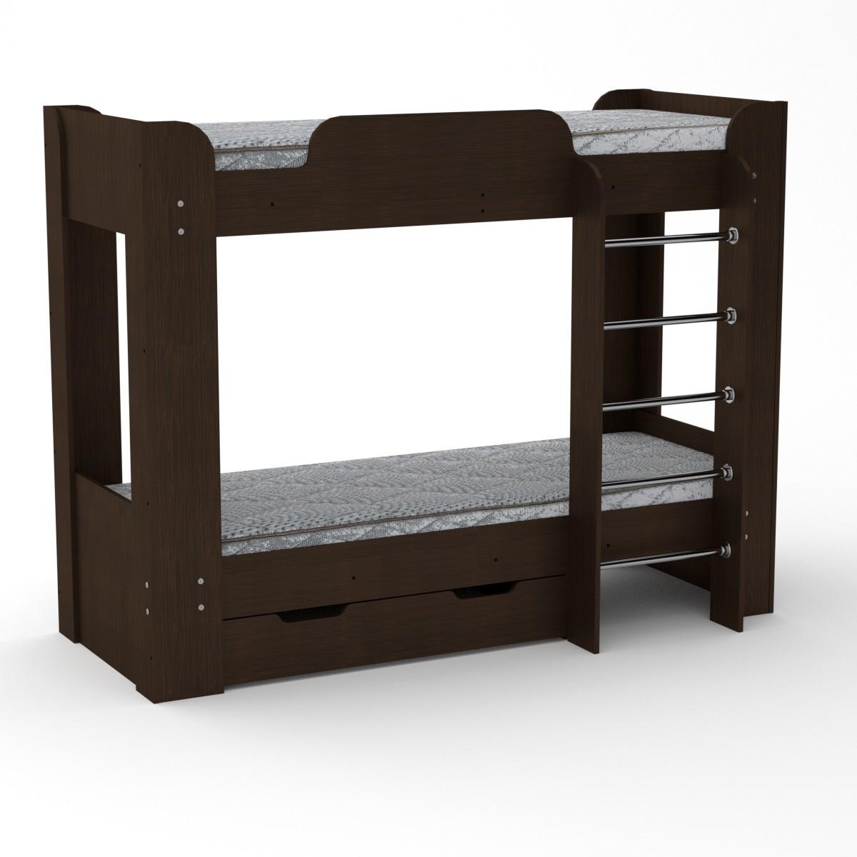 Кровать двухъярусная Твикс-2 венге Компанит