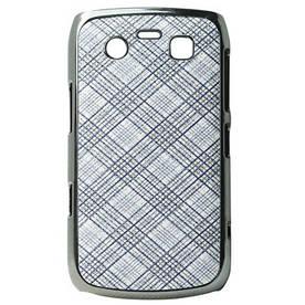 "Чехол накладка для Blackberry Bold 9700 9780 9020, ""Grid Pattern"""