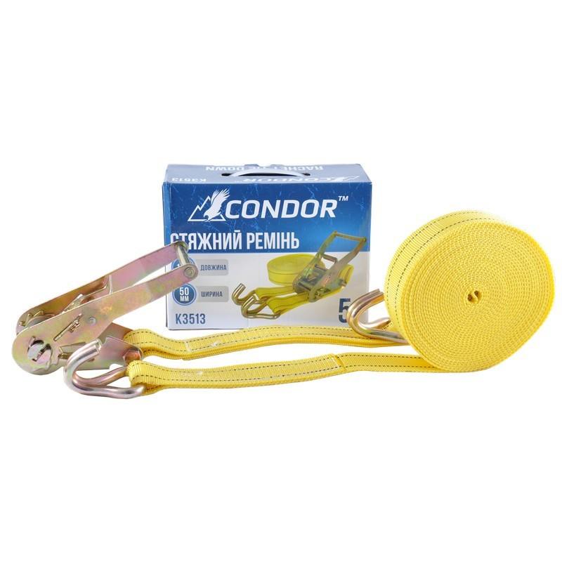 Стяжной ремень CONDOR K3513 5т 10м