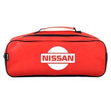Сумка-органайзер в багажник красная полиэстер BELTEX Nissan (SU161)