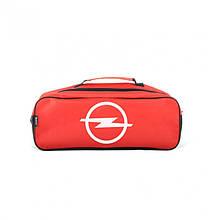 Сумка-органайзер в багажник красная полиэстер BELTEX Opel (SU25)