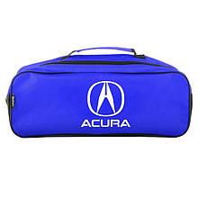 Сумка-органайзер в багажник синяя полиэстер BELTEX Acura (SU16)