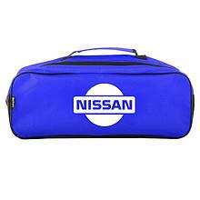 Сумка-органайзер в багажник синяя полиэстер BELTEX Nissan (SU151)