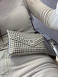 Молодежная женская сумка на пояс.Поясная сумка-кошелек.Белая КС108-1, фото 10