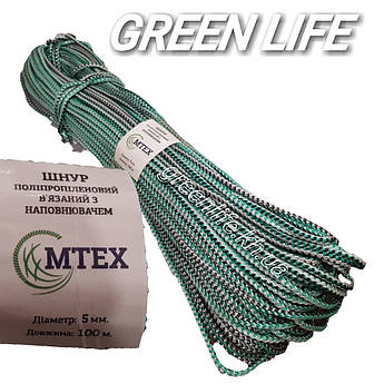 Шнур полипропиленовый M-TEX (5 мм 100 м )