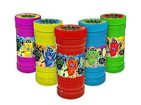 Слаймы різних кольорів 370 грам Surprise Ninja Slime 3XL