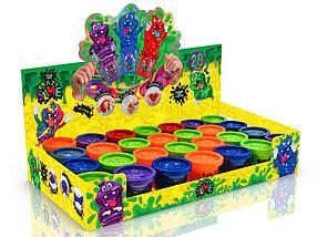Слаймы різних кольорів 55 грам Crazy Slime в баночці