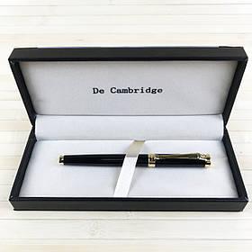 Пір'яна ручка в подарунковому футлярі De Cambridge