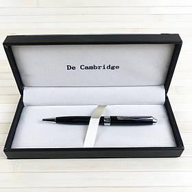 Ручка з поворотним механізмом у подарунковому футлярі De Cambridge