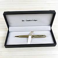 Ручка с поворотным механизмом в подарочном футляре De Cambridge