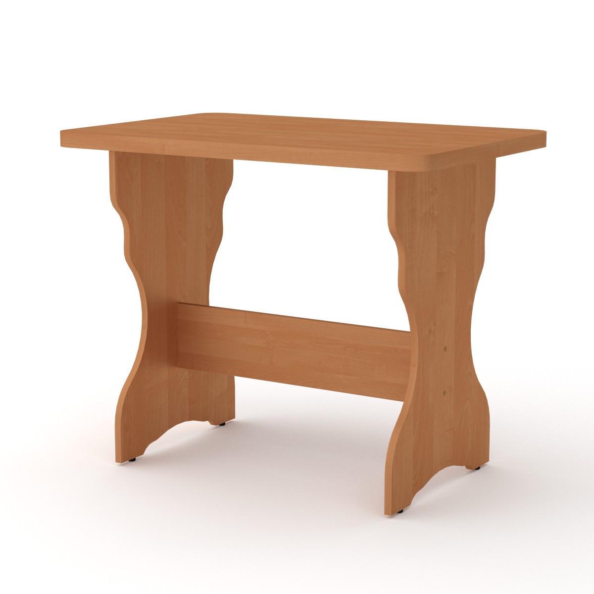 Стол кухонный КС-3 ольха Компанит (90х59х73 см)