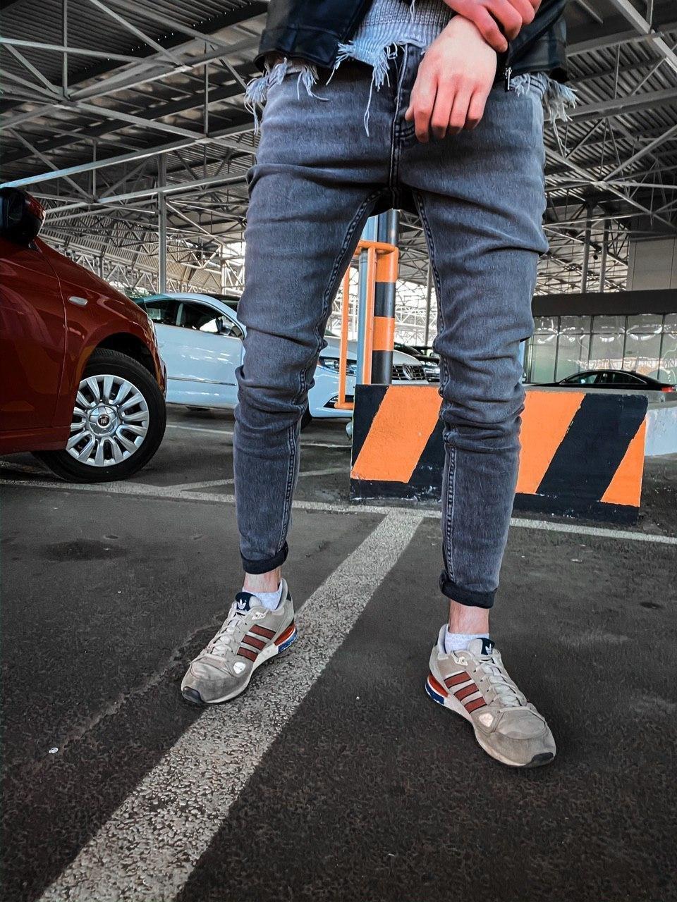 Мужские стрит-ретро джинсы