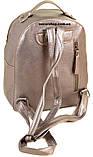 Женский рюкзак серебро. Размер 28*25*15. Детский портфель. Женская сумка Alex Rai. СЛ7, фото 2