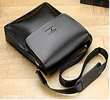 Стильная мужская сумка барсетка KANGAROO. Сумки Кенгуру. КС4, фото 8