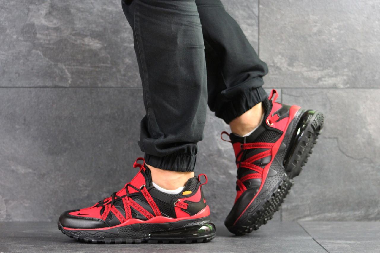 Мужские кроссовки (в стиле) Nike,черные с красным