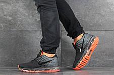 Мужские кроссовки (в стиле) Nike Air Max 2017,серые с черным, фото 2