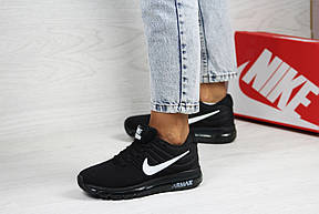Женские кроссовки (в стиле) Nike air max 2017,черно-белые, фото 2