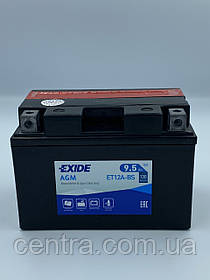 Мото аккумулятор EXIDE ET12A-BS 9.5Ah