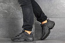Мужские кроссовки (в стиле) Reebok нубук,черные, фото 3