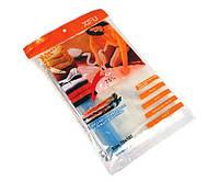 Вакуумный пакет для хранения вещей XIFU 70 x 100 см A0033 Прозрачный