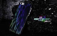Чехол накладка на Apple iPhone 5 Nillkin меняющий цвет + защитная пленка, черный
