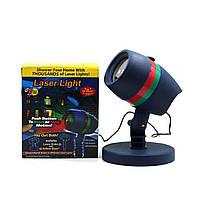 Лазерный звездный проектор Star Shower Motion Laser Light 8003 Синий, фото 1