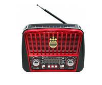 Радиоприемник GOLON RX-455S Solar Красный
