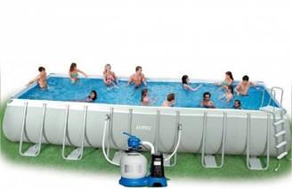 Каркасний басейн Intex Ultra Frame Pool 54485 975 см х 488 см х 132 см з аксесуарами