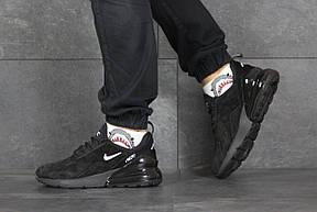 Мужские замшевые кроссовки (в стиле) Nike Air Max 720,черные 44р, фото 2