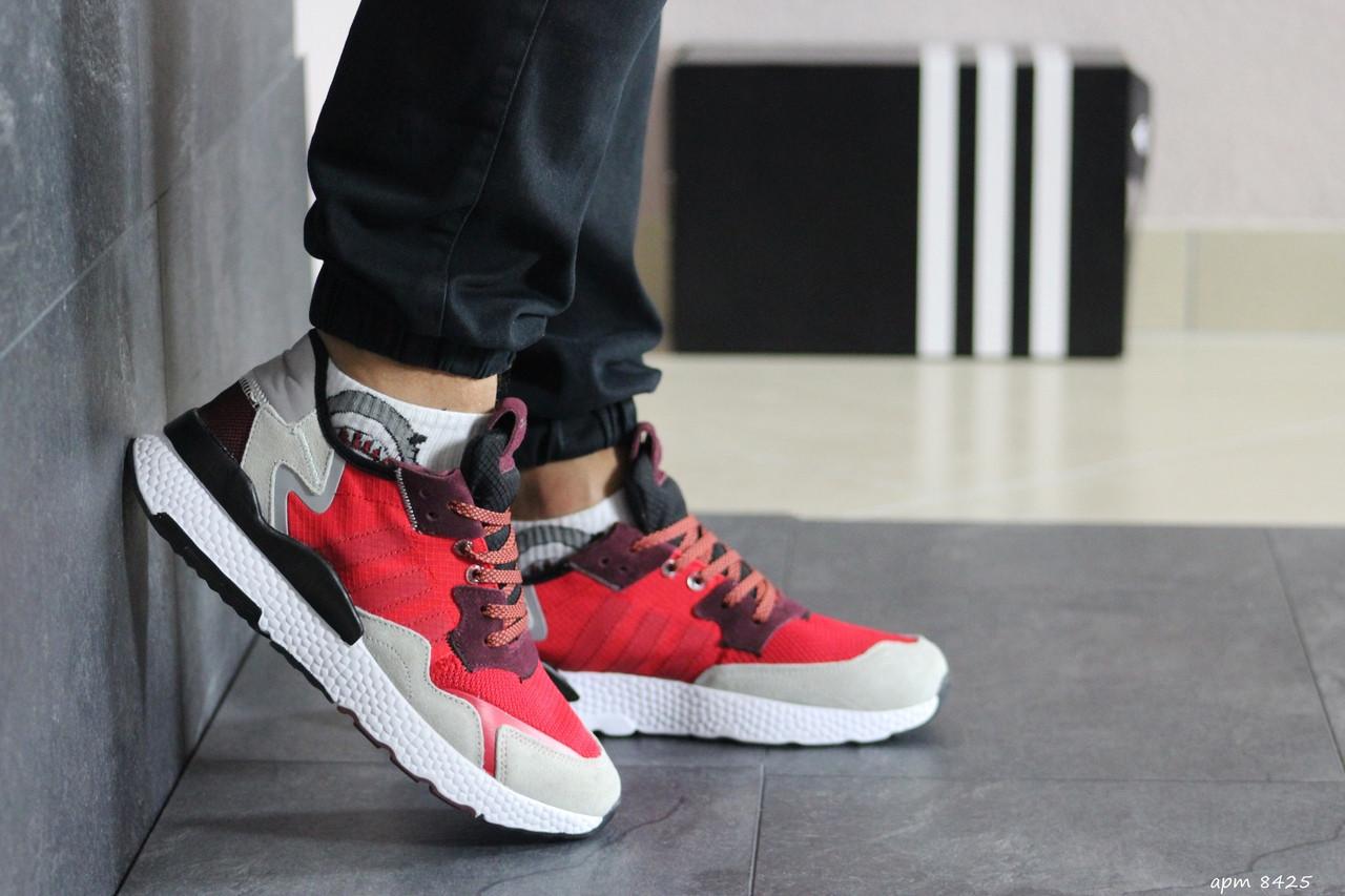 Мужские кроссовки (в стиле) Adidas Nite Jogger Boost,красные