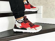 Мужские кроссовки (в стиле) Adidas Nite Jogger Boost,красные, фото 2