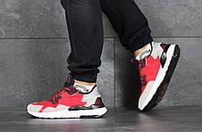 Мужские кроссовки (в стиле) Adidas Nite Jogger Boost,красные, фото 3