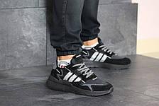 Мужские кроссовки (в стиле) Adidas Nite Jogger Boost,черные, фото 2