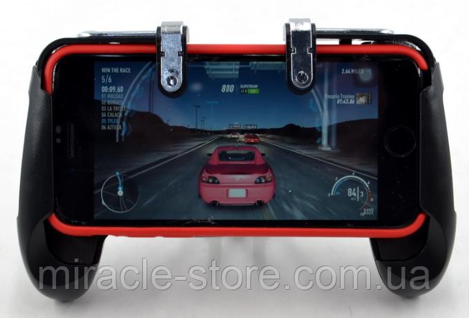 Игровой геймпад для телефона XPZ01 с двумя триггерами джойстик с триггерами для смартфона